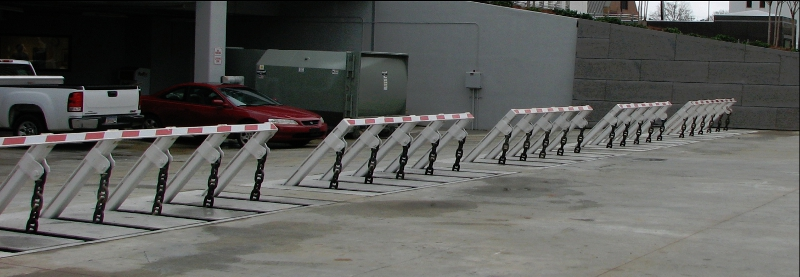he RSSI all-Electric vehicle Wedge Barrier
