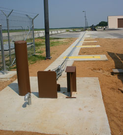RSSI electric Cable Trap vehicle barrier